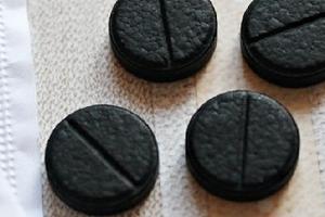 активированный уголь при диареи