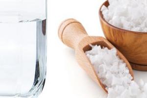 солевой раствор от диареи